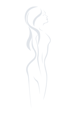 Bikini z siateczki wykończone koronką Blanca - Gatta