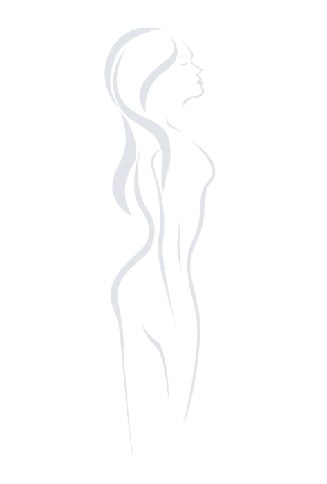 Majtki cięte laserowo z wysokim stanem Bikini Thalia - Gatta