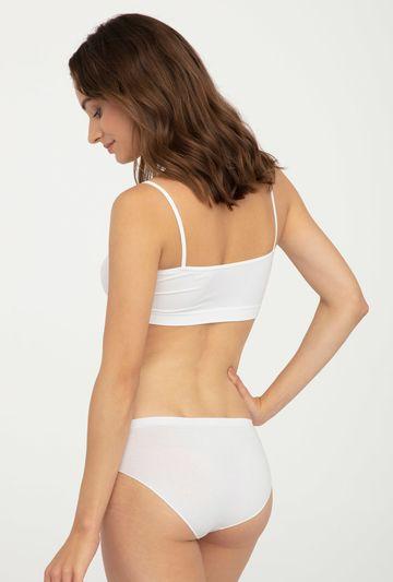 Majtki bawełniane bezszwowe Bikini Cotton - Gatta
