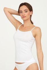 Bawełniana koszulka na cienkich ramiączkach Cami Cotton - Gatta