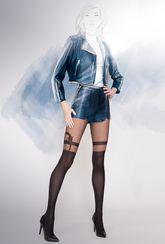 Rajstopy fantazyjne Girl-up - 31 - Gatta