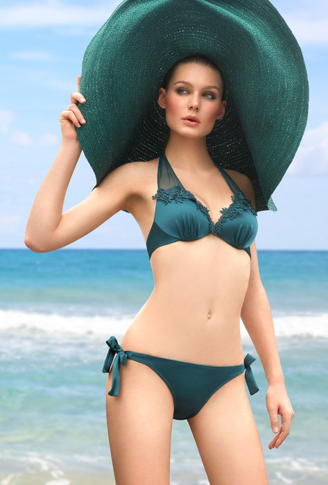 Strój kąpielowy z wiązaniem Ibiza - majtki - Gatta