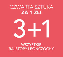 3+1 na wszystkie rajstopy i pończochy!