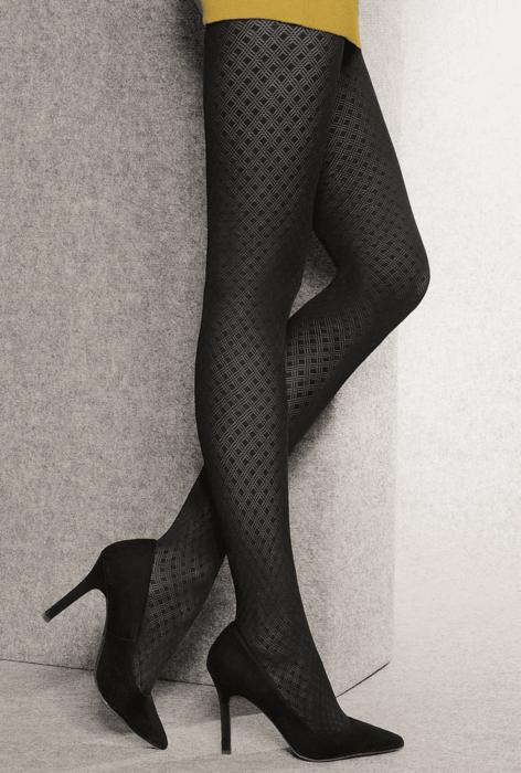 Rajstopy damskie wzorowane Loretta wz. 125 - Gatta