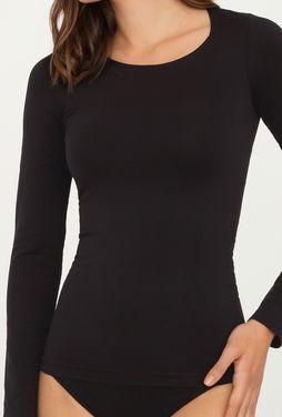 Dopasowana bluzka z długim rękawem T-shirt L - Gatta
