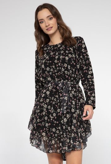 Zwiewna sukienka w kwiaty Marcia - Gatta