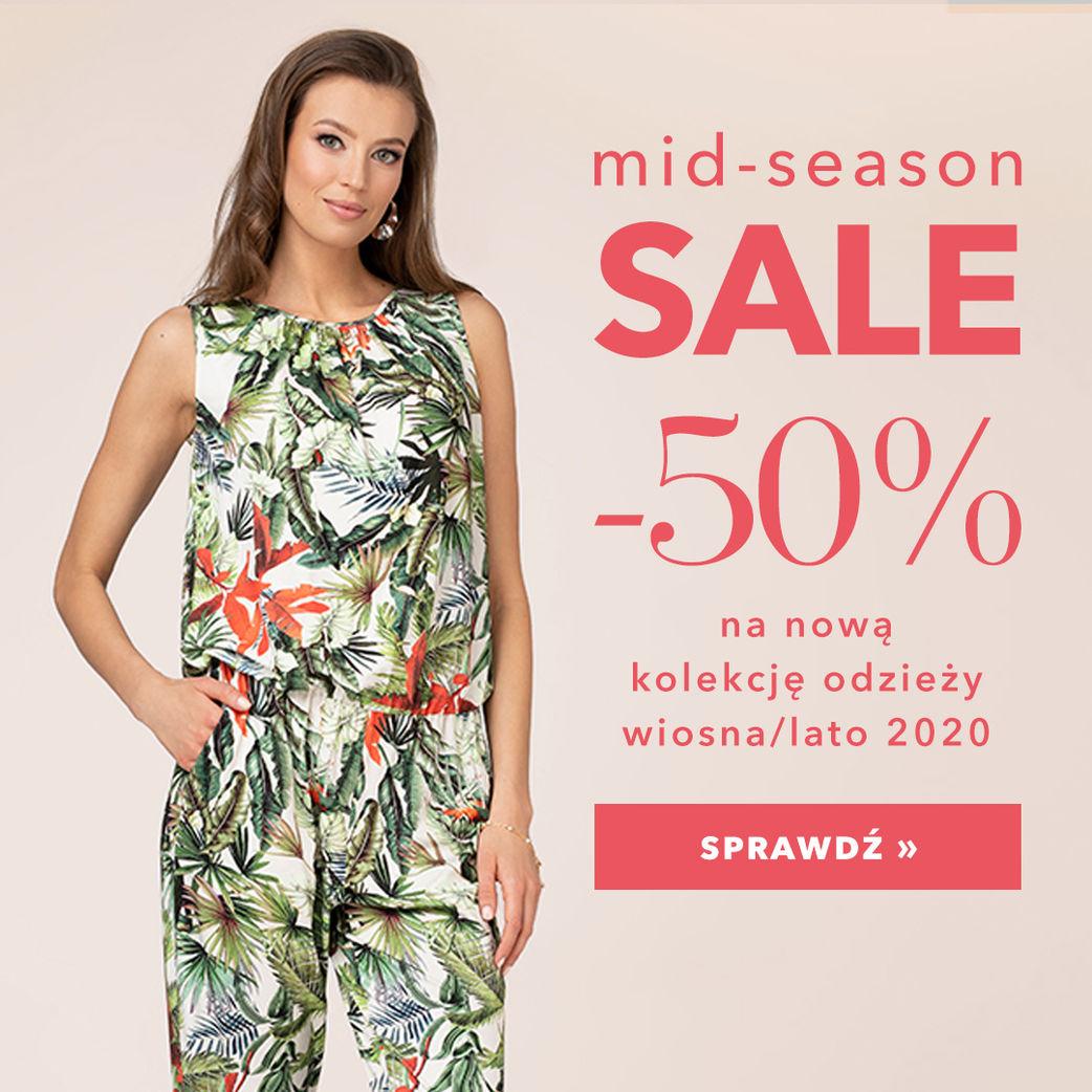-40% na nową kolekcję odzieży!