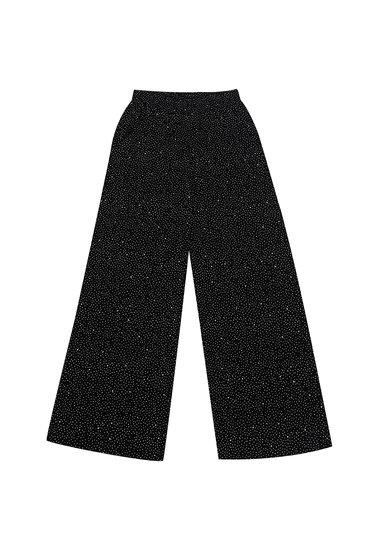 Rozszerzane spodnie w kropki Kelly - Gatta