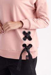 Bluza dresowa z wiązaniem Bow - Gatta