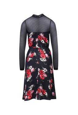 Sukienka w kwiaty z ozdobną siateczką Rosita - Gatta