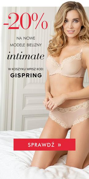 -20% na nową kolekcję bielizny Intimate!