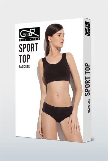 Top sportowy bezszwowy Sport - Gatta