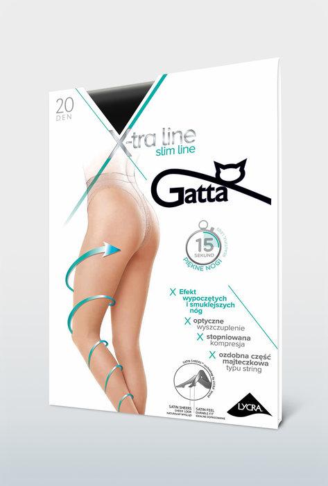 Rajstopy wyszczuplające Slim Line 20 den - Gatta