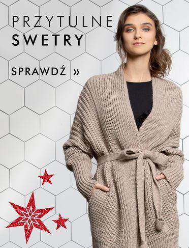 Kolekcja ciepłych swetrów i bluzek