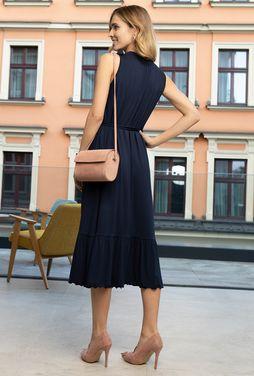 Sukienka bez rękawów Midi Bow - Gatta