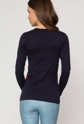 Dopasowana bluzka w paski Olivia - Gatta