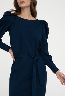 Dopasowana sukienka z bufiastymi rękawami Malena - Gatta