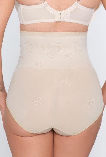 Modelujące majtki bikini z wysokim stanem Corrective - Gatta