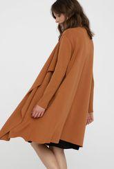 Długi sweter Monna z luźnymi klapami - Gatta