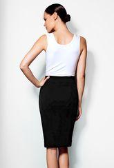 Czarna spódnica ołówkowa Colette - Gatta