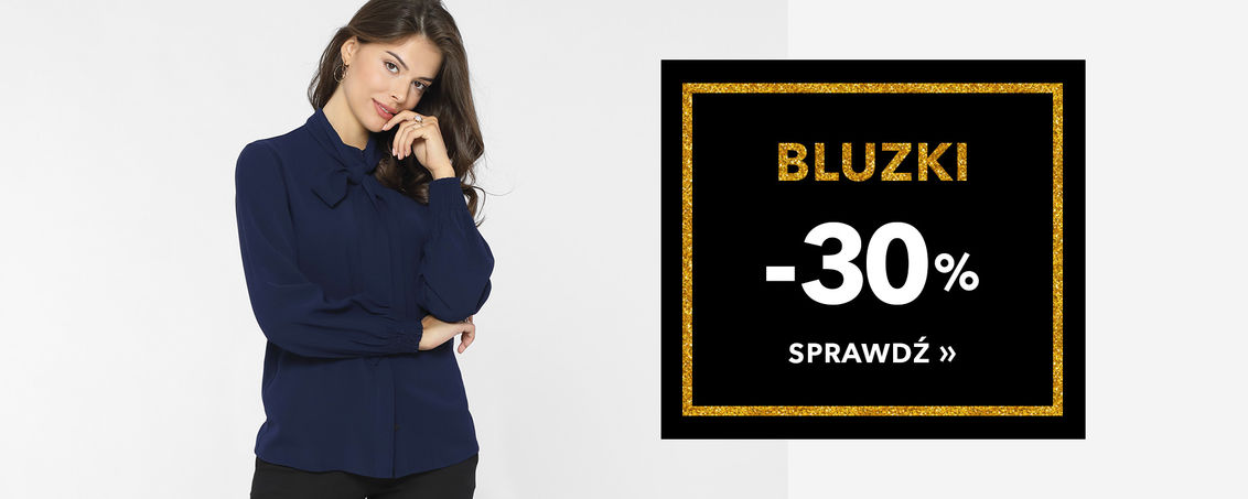 Bluzki -30% - BLACK WEEK!
