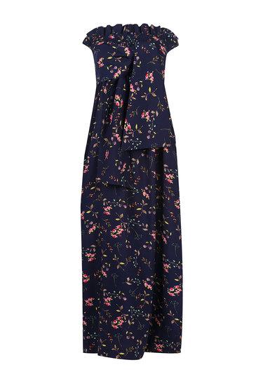 Sukienka w kwiaty bez ramiączek Clara - Gatta
