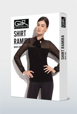 Bluzka z wiązaniem pod szyją Ramira - Gatta