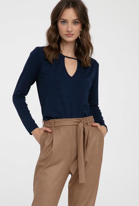 Eleganckie spodnie wiązane w pasie Samira - Gatta