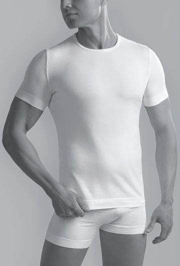 Bawełniana koszulka męska z krótkim rękawem Seamless Cotton - Gatta