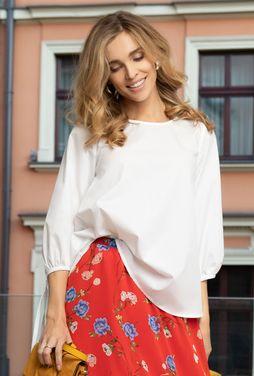 Koszulowa bluzka z bawełny Lordissa - Gatta