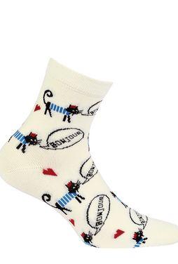 Skarpetki bawełniane damskie wz. 750 - Gatta