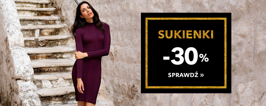 Sukienki -30% - BLACK WEEK!