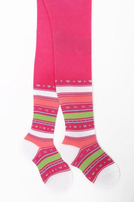 TEEN - Rajstopy z cienkiej bawełny 6-11 lat w.995 - Gatta