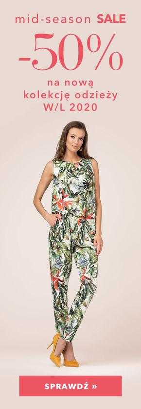 -50% na nową kolekcję odzieży!