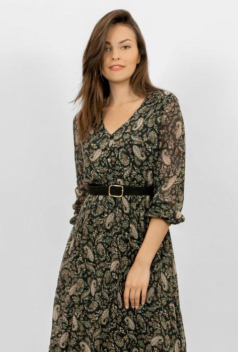 Lekka sukienka z paskiem Gina - Gatta