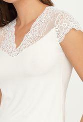 Bluzka z koronkowym wykończeniem Tiffany - Gatta