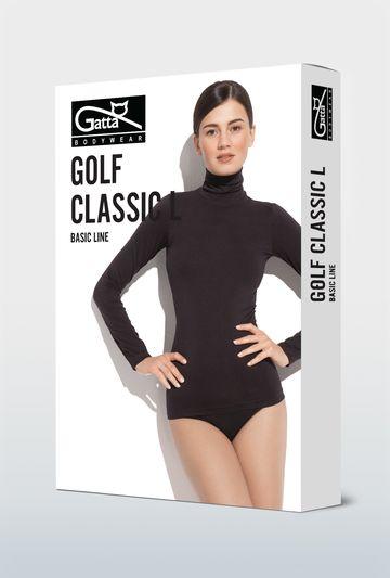 Bezszwowy golf z długim rękawem Classic - Gatta