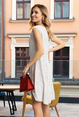 Zwiewna sukienka w kropki Florence - Gatta