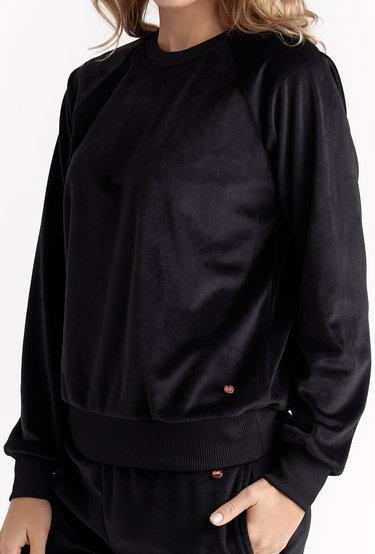 Welurowa bluza dresowa Milla Flock - Gatta