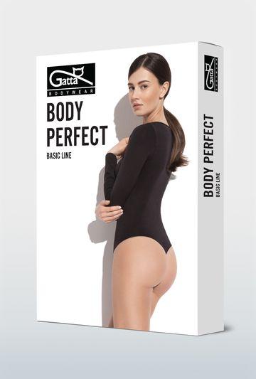 Body bezszwowe z długim rękawem Body Perfect - Gatta