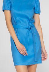 Lniana sukienka z krótkim rękawem Lira - Gatta