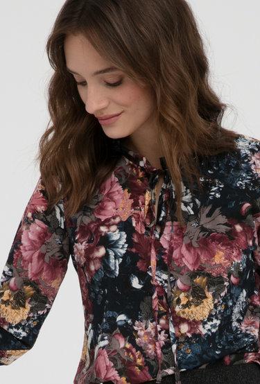 Bluzka w kwiaty Canadan - Gatta