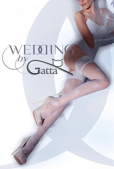 POŃCZOCHY ŚLUBNE LAVINIA -.06 - Gatta