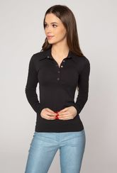 Koszulka Polo Classic z guziczkami przy dekolcie - Gatta