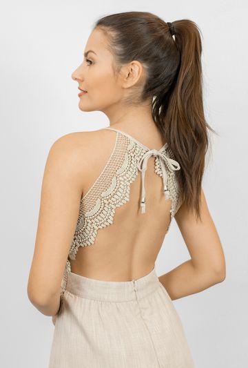 Sukienka odsłaniająca plecy Layla - Gatta