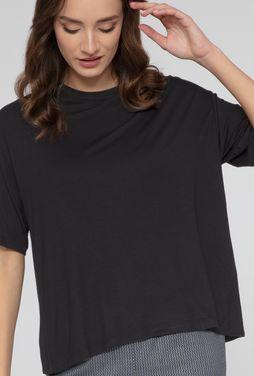 T-shirt z asymetrycznym tyłem Alissa - Gatta