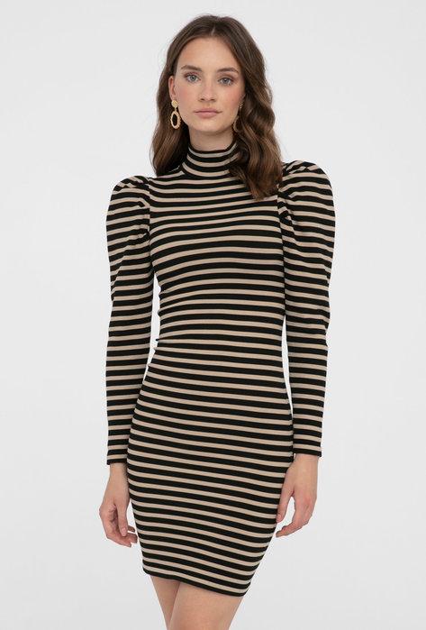 Dopasowana sukienka z golfem Mossie - Gatta