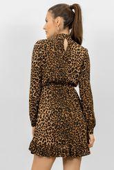 Krótka sukienka w cętki Gilliana - Gatta