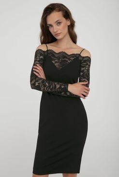 Sukienka z koronkowym hiszpańskim dekoltem Megan - Gatta
